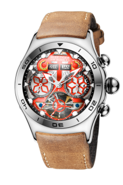 đồng hồ reef tiger Air Bubble Skeleton RGA703-YRB