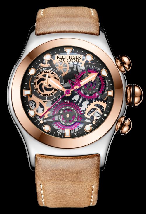 đồng hồ reef tiger Big Bang Skeleton RGA792-TBBRG