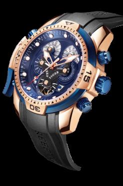 Đồng hồ cơ Reef Tiger RGA3503 PLBB chính hãng đẹp phong cách